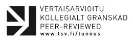 TSV Vertaisarvioitu